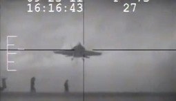 Navy Pilot Pulls Up At the Last Second, Saves Sailors