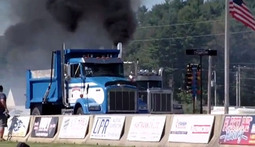 Yes, That's a Dump Truck and a Semi Drag-Racing