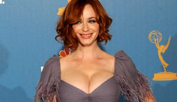 "Christina Hendricks ""Learning to Celebrate"" Her Breasts"