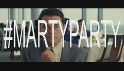 Leonardo DiCaprio Celebrates 'The Wolf of Wall Street' With A #MartyParty