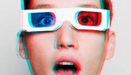 Special Film Turns 2D LCD Screens Into Glasses-Free 3D Displays