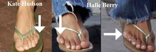 Halle Berry Has Six Toes