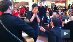 Food Court Marriage Proposal Proves That Romance Isn't Dead, It's Just Covered in Bacon Grease