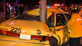 Fugitive Driver Crashes Into Taxi, Flips Van: Part 2