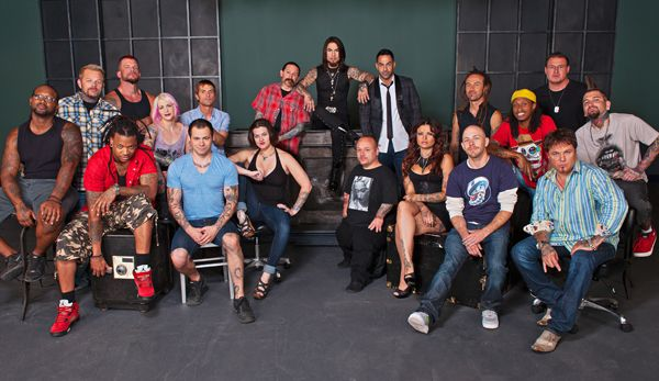 Meet the Cast of Ink Master Season 2 | Ink Master | Spike