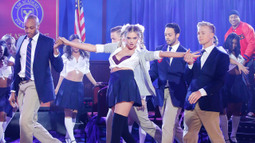 Kate Upton Performs '...Baby One More Time'