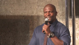 Terry Crews and Randy Couture on Expendables 2