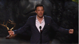 Ben Affleck Accepts The Mantlers For Guy Of the Year