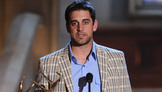 Aaron Rodgers Accepts Top Fantasy Leaguer Award