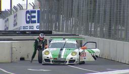 Driver Loses Tire, Picks It Up, Wins Race