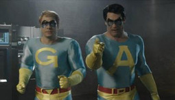 New Clip of the Ambiguously Gay Duo Live in the Flesh