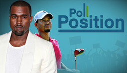 Poll Position Episode 1: Tiger Woods, Kanye and London Riots