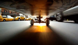 See New York City From the Underside of a Skateboard