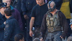 Spoiler Alert: Pictures of Batman and Bane Battling in Dark Knight Rises