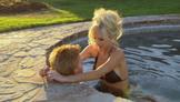 Randy & Wanda In The Hot Tub