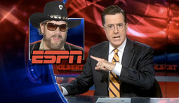Mantenna – Stephen Colbert Wants to Replace Hank Williams Jr. on Monday Night Football