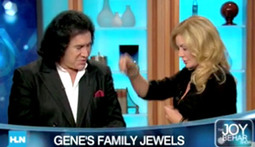 Shannon Tweed Walks Out on Gene Simmons on Live TV