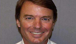 Mantenna – John Edwards' Smiley Mug Shot Oozes Creepiness