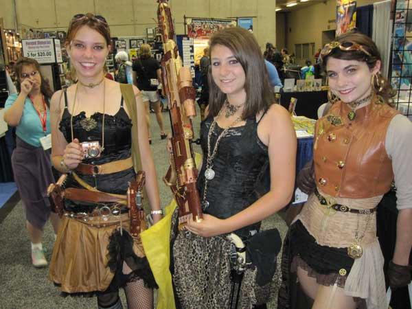 Comic-Con 2011: Cosplay Girls