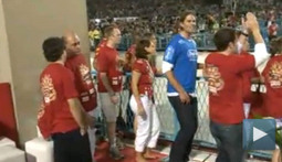 Tom Brady's Ponytail Awkwardly Dances through the Streets of Brazil