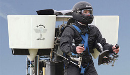 Martin Jetpack Climbs to 5,000 Feet Above Sea Level