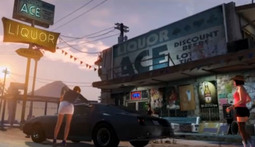 New Grand Theft Auto V Debut Trailer