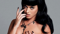Update! Katy Perry Gets Topless Again to Sell Records