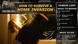 Disaster Checklist: How To Survive A Home Invasion