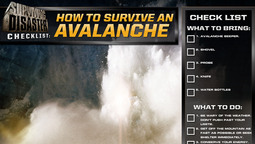 Disaster Checklist: How To Survive An Avalanche
