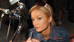 "Paris Hilton Enters the Exciting World of ""Hanging out with Bikers"""
