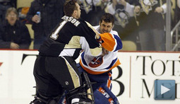 Goalies Only Need One Punch to End a Fight