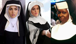 Top Seven Hottest Nuns in Cinema