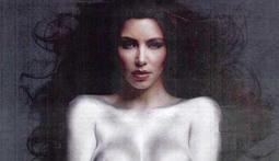 Kim Kardashian Poses Naked... Again