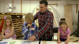 Adam Teaches Kids How To Build