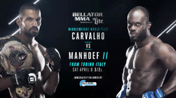 Bellator 176: Carvalho vs. Manhoef