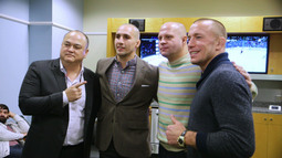 Backstage with Fedor Emelianenko