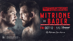 Heavyweight World Grand Prix: Matt Mitrione vs. Ryan Bader