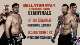 Bellator 207 & 208: Heavyweight World Grand Prix Semifinals - OCT. 12th and 13th