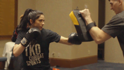 Kristina Williams Training | #Bellator210