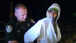 Handcuffed Man Makes A Break For It