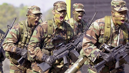 East Meets West: U.S. Army Rangers Take On North Korean Special Ops