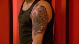 Ashley Velazquez's Ghoulishly Gorgeous Grim Reaper Tattoo