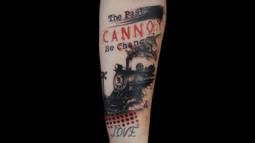 Bang's Terrific Trash Polka Tattoo
