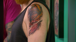 A Captivating, Colorful Cover Up by Robbie Ripoll