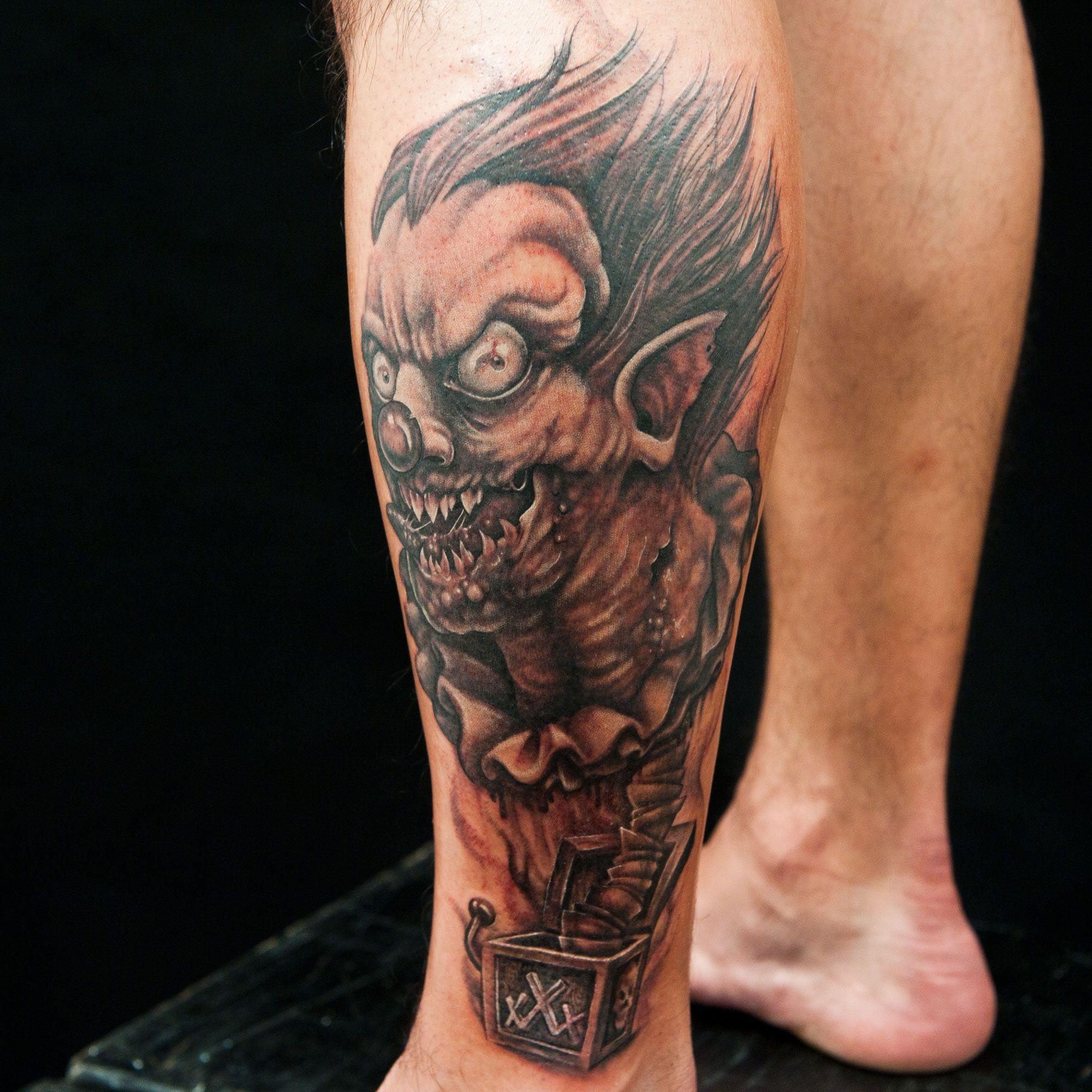 Horror ink master for Ink ink tattoo