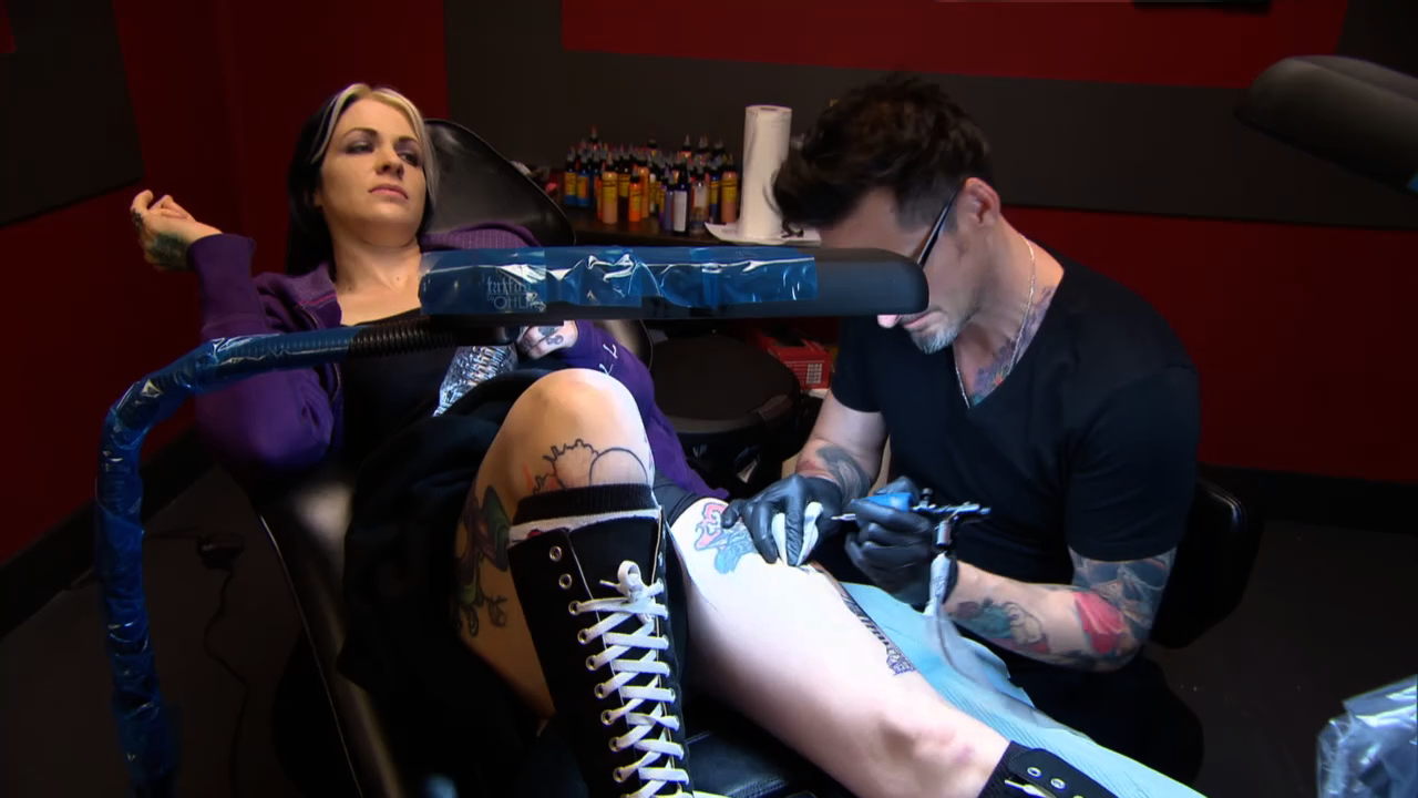 how to become a human canvas for ink master