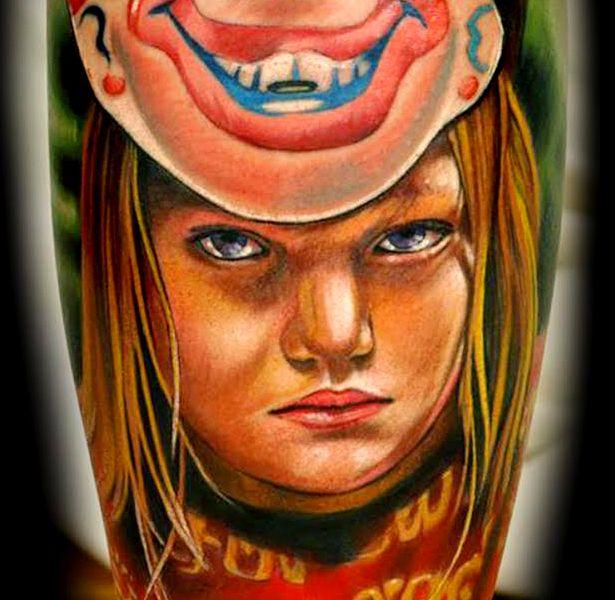 artist portfolio chris blinston ink master