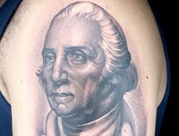 Elimination Tattoo: Political Portraits (Black & Grey)