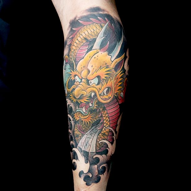 Super Elimination Tattoo: Japanese Dragons - Ink Master UQ57