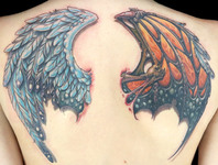 Elimination Tattoo: 2-On-1 Wings